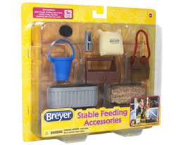 Breyer #61075 Stable Feeding Accessories for Classic Horse