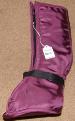 Horse Soaking Boot Poultice Boot Pony Soaker Boot Therapy Horse Sock Burgundy/Black