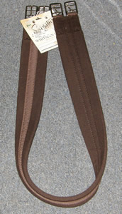 "Whitman English Girth Fabric Girth Brown 46"" 48"" 50"""