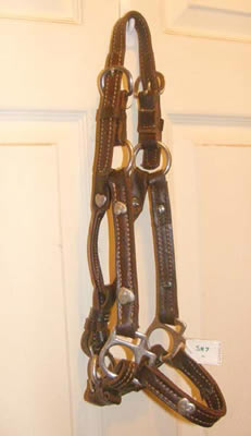 Weanling Foal Western Stock Show Halter Class B Mini Halter Miniature Horse Show Halter with Silver Hearts