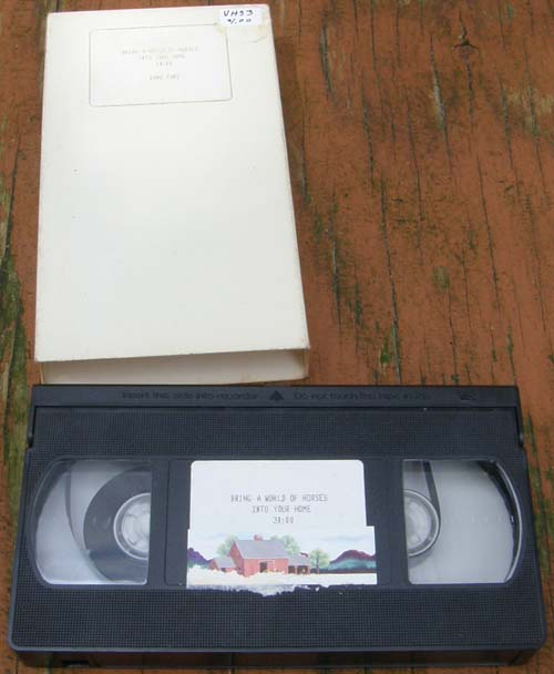 Bring A World Of Horses Into Your Home Breyer Model Horse Hobby Information VHS Tape