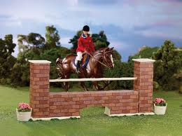 Breyer #2046 Brick Wall Jump Prop