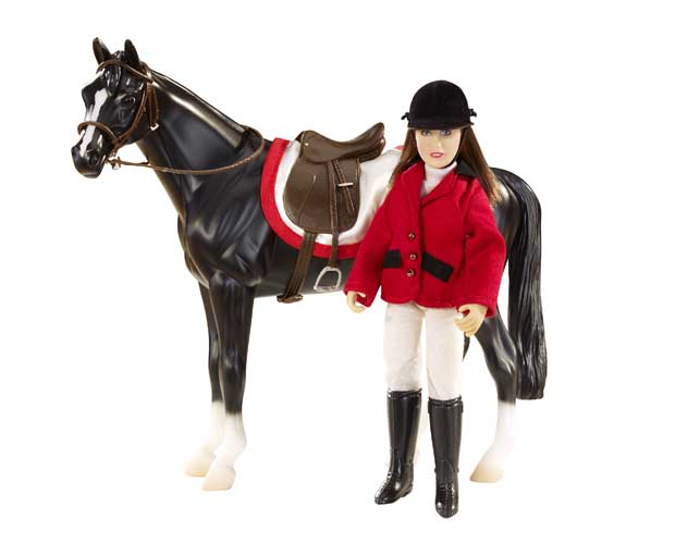 Breyer #61052 Chelsea Show Jumper Classic Rider Doll English Tack Set