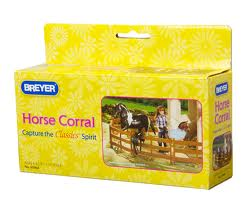 Breyer #61064 Classic Horse Corral Fence Set