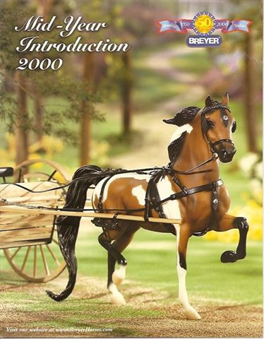 Breyer Dealer Catalog 2000 Mid Year Introduction