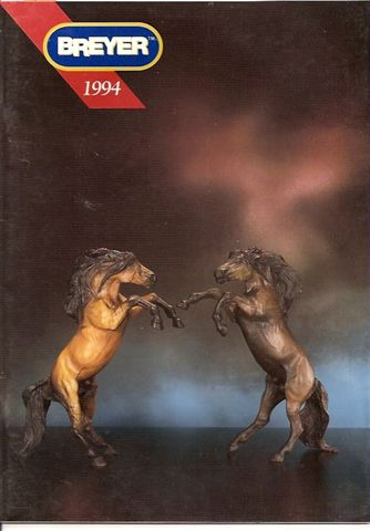Breyer Dealer Catalog 1994 in German