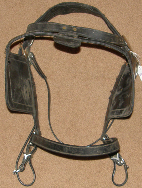 Bio Draft Horse Driving Harness Bridle with Blinders Biothane Driving Horse Bridle with Blinds Blind Bridle Coach Bridle Surrey Bridle with Face Drop