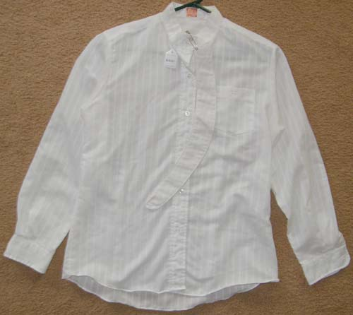 Ladies 14 Beaufort Long Sleeve Show Shirt, English Shirt
