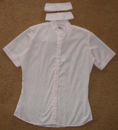 Ladies 36 Hyde Park Short Sleeve Show Shirt, English Shirt