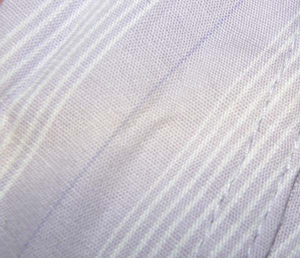 Devon Aire Nouvelle Stretch Show Shirt S/S English Riding Shirt Pale Purple Stripe Ladies 28R