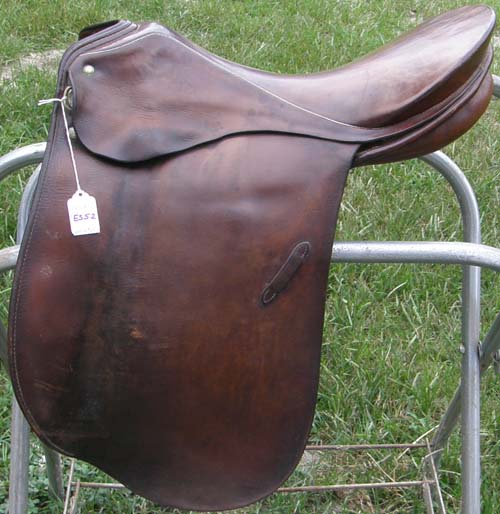 "17"" - 17 1/2"" Passier Hannover Century Dressage Saddle PS Baum Brown"