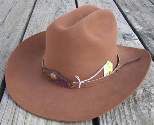 7 1 8 Eddy Bros. Western Hat Cowboy Hat Pecan ... 64ef3a53f8d