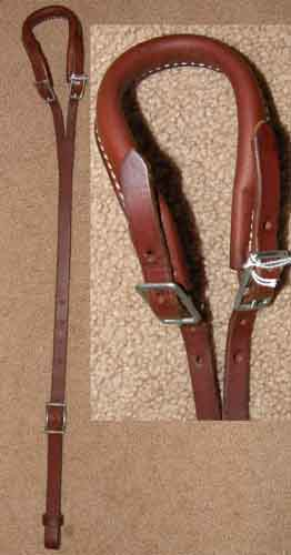 Leather Crupper for Horse Pony or Mule Weaver?