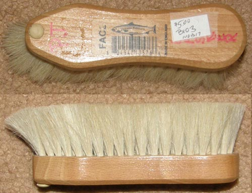 Salmon Products Super Soft Horsehair? Brush Soft Face Brush Horse Hair? Grooming Brush Shoe Care Brush