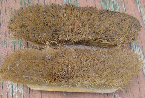 Natural Fiber Dandy Brush Medium Soft Brush Horse Grooming Brush