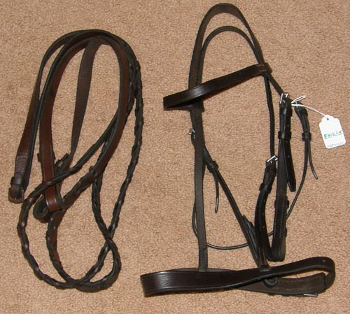 how to set snaffle on bridle