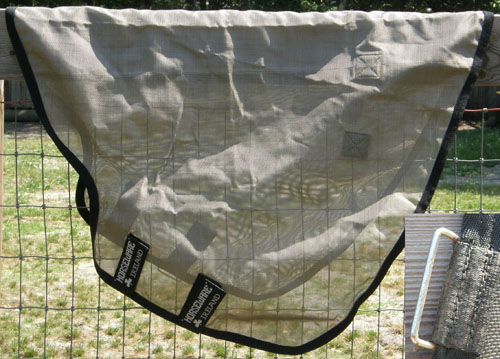 "81"" OF Rambo by Horseware Protector Horse Turnout Fly Sheet with Removable Protector Neck Cover Mane Tamer"