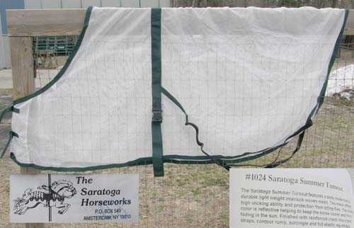 "80"" OF Saratoga Horseworks Summer Turnout Fly Sheet"