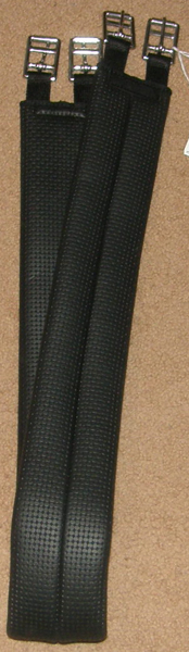 "Wintec Elastic Synthetic English Girth Stretch Comfort Girth Dark Brown Black 46"" 52"" 54"" 56"""