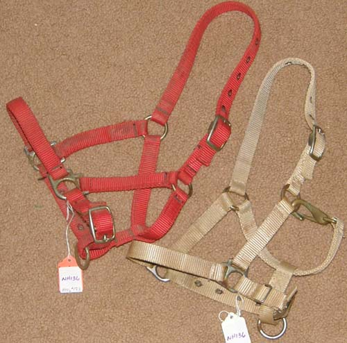Tan Nylon Halter 26