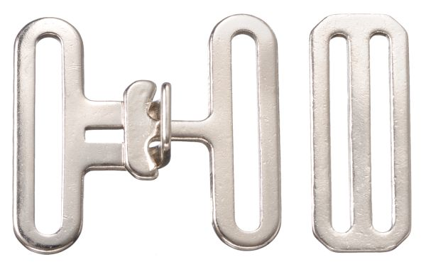 3 Piece Surcingle Attachment Replacement Blanket Buckles Repair Pieces For Surcingles Nickel Plated 2 Wide Slot