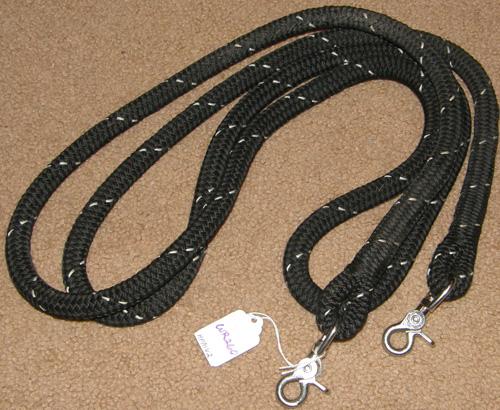 How to make braided rope reins