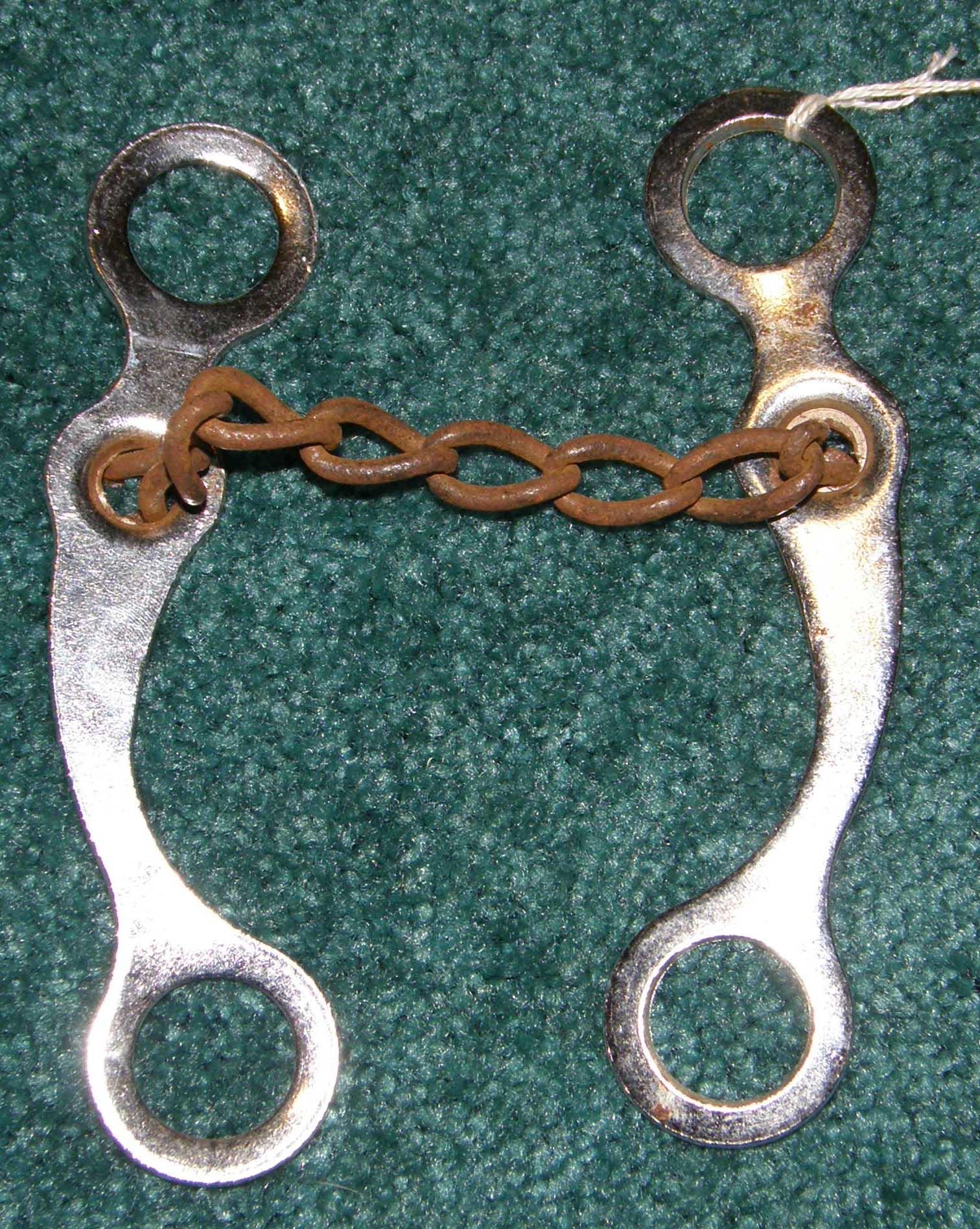 western roping bits