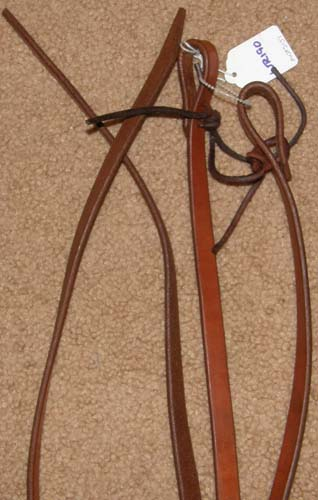 how to hold western split reins
